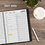 """AT-A-GLANCE® Two-Person Group Daily Appointment Book, 8"""" x 10 7/8"""", Black, 2022 Thumbnail 7"""