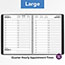 """AT-A-GLANCE® Two-Person Group Daily Appointment Book, 8"""" x 10 7/8"""", Black, 2022 Thumbnail 6"""