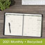 "AT-A-GLANCE® Recycled Monthly Planner, 9"" x 11"", Black, 2021 Thumbnail 7"