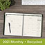 "AT-A-GLANCE® Recycled Monthly Planner, 9"" x 11"", Green, 2021 Thumbnail 7"