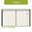 "AT-A-GLANCE® Recycled Monthly Planner, 9"" x 11"", Green, 2021 Thumbnail 6"