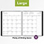"""AT-A-GLANCE® Contemporary Monthly Planner, Premium Paper, 9"""" x 11"""", Black Cover, 2022 Thumbnail 7"""