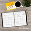 """AT-A-GLANCE® Contemporary Monthly Planner, Premium Paper, 9"""" x 11"""", Graphite Cover, 2021 Thumbnail 8"""