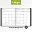"""AT-A-GLANCE® Contemporary Monthly Planner, Premium Paper, 9"""" x 11"""", Graphite Cover, 2021 Thumbnail 7"""