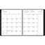 """AT-A-GLANCE® Contemporary Monthly Planner, Premium Paper, 9"""" x 11"""", Graphite Cover, 2021 Thumbnail 2"""