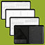 """AT-A-GLANCE® Executive Monthly Padfolio, 9"""" x 11"""", White, 2022 Thumbnail 4"""