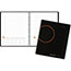 """AT-A-GLANCE® Plan. Write. Remember. Notebook with Reference Calendar, 9 3/16"""" x 11"""", Black, 2021 Thumbnail 1"""