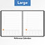 """AT-A-GLANCE® Plan. Write. Remember. Notebook with Reference Calendar, 9 3/16"""" x 11"""", Black, 2021 Thumbnail 6"""