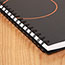 """AT-A-GLANCE® Plan. Write. Remember. Notebook with Reference Calendar, 9 3/16"""" x 11"""", Black, 2021 Thumbnail 5"""