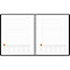 """AT-A-GLANCE® Plan. Write. Remember. Notebook with Reference Calendar, 9 3/16"""" x 11"""", Black, 2021 Thumbnail 2"""