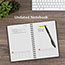 """AT-A-GLANCE® Plan. Write. Remember. Planning Notebook with Reference Calendar, 6"""" x 9"""", Gray, 2021 Thumbnail 7"""