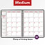 """AT-A-GLANCE® Weekly/Monthly Appointment Book, 6 7/8"""" x 8 3/4"""", Black, 2021 Thumbnail 7"""