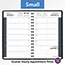 """AT-A-GLANCE® Daily Appointment Book with 15-Minute Appointments, 4 7/8"""" x 8"""", Black, 2021 Thumbnail 6"""