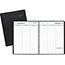 """AT-A-GLANCE® Weekly Planner Ruled for Open Scheduling, 6 3/4"""" x 8 3/4"""", Black, 2022 Thumbnail 1"""