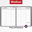 """AT-A-GLANCE® Weekly Planner Ruled for Open Scheduling, 6 3/4"""" x 8 3/4"""", Black, 2022 Thumbnail 6"""