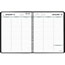 """AT-A-GLANCE® Weekly Planner Ruled for Open Scheduling, 6 3/4"""" x 8 3/4"""", Black, 2022 Thumbnail 2"""