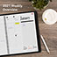 """AT-A-GLANCE® 800 Range Weekly/Monthly Appointment Book, 8 1/2"""" x 11"""", White, 2021 Thumbnail 8"""