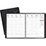 """AT-A-GLANCE® Weekly Appointment Book Ruled, Hourly Appts, 6 7/8"""" x 8 3/4"""", Black, 2021 Thumbnail 1"""