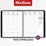 """AT-A-GLANCE® Weekly Appointment Book Ruled, Hourly Appts, 6 7/8"""" x 8 3/4"""", Black, 2021 Thumbnail 6"""