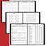"""AT-A-GLANCE® Weekly Appointment Book Ruled, Hourly Appts, 6 7/8"""" x 8 3/4"""", Black, 2021 Thumbnail 4"""