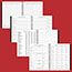 """AT-A-GLANCE® Executive® Recycled Weekly/Monthly Planner Refill, 6 7/8"""" x 83/4"""", 2022 Thumbnail 5"""