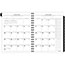 """AT-A-GLANCE® Executive® Recycled Weekly/Monthly Planner Refill, 6 7/8"""" x 83/4"""", 2022 Thumbnail 2"""