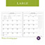 """AT-A-GLANCE® Executive Monthly Padfolio Refill, 9"""" x 11"""", White, 2021 Thumbnail 5"""