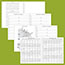 """AT-A-GLANCE® Executive Monthly Padfolio Refill, 9"""" x 11"""", White, 2021 Thumbnail 4"""