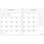 """AT-A-GLANCE® Executive Monthly Padfolio Refill, 9"""" x 11"""", White, 2021 Thumbnail 2"""