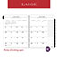 """AT-A-GLANCE® Executive® Weekly/Monthly Planner Refill, 15-Minute, 8 1/4"""" x 10 7/8"""", 2022 Thumbnail 6"""