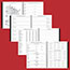 """AT-A-GLANCE® Executive® Weekly/Monthly Planner Refill, 15-Minute, 8 1/4"""" x 10 7/8"""", 2022 Thumbnail 5"""