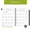 "AT-A-GLANCE® Executive® Monthly Planner Refill, 6 5/8"" x 8 3/4"", White, 2021 Thumbnail 5"