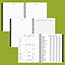 """AT-A-GLANCE® Executive® Monthly Planner Refill, 6 5/8"""" x 8 3/4"""", White, 2021 Thumbnail 4"""