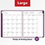 "AT-A-GLANCE® Contemporary Weekly Monthly Appointment Book, 8 1/4"" x 10 7/8"", Purple, 2021 Thumbnail 8"