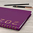 "AT-A-GLANCE® Contemporary Weekly Monthly Appointment Book, 8 1/4"" x 10 7/8"", Purple, 2021 Thumbnail 7"