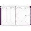 "AT-A-GLANCE® Contemporary Weekly Monthly Appointment Book, 8 1/4"" x 10 7/8"", Purple, 2021 Thumbnail 2"