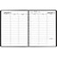"AT-A-GLANCE® Weekly Appointment Book, 8 1/4"" x 10 7/8"", Black, 2021 Thumbnail 2"