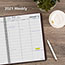 """AT-A-GLANCE® Weekly Appointment Book, 8 1/4"""" x 10 7/8"""", Winestone, 2021 Thumbnail 6"""