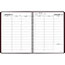 """AT-A-GLANCE® Weekly Appointment Book, 8 1/4"""" x 10 7/8"""", Winestone, 2021 Thumbnail 2"""