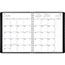 "AT-A-GLANCE® Contemporary Weekly/Monthly Planner, Column, 8 1/4"" x 10 7/8"", Black Cover, 2021 Thumbnail 3"