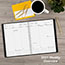 """AT-A-GLANCE® Contemporary Weekly/Monthly Planner, Column, 8 1/4"""" x 10 7/8"""", Graphite Cover, 2021 Thumbnail 9"""