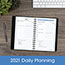 """AT-A-GLANCE® The Action Planner Daily Appointment Book, 4 3/4"""" x 8"""", Black, 2022 Thumbnail 8"""