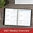 """AT-A-GLANCE® The Action Planner Weekly Appointment Book, 6 7/8"""" x 8 3/4"""", Black, 2021 Thumbnail 8"""