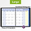 """AT-A-GLANCE® QuickNotes Monthly Planner, 8 1/4"""" x 10 7/8"""", Black, 2022 Thumbnail 7"""