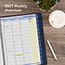 """AT-A-GLANCE® QuickNotes Weekly/Monthly Appointment Book, 8 1/4"""" x 10 7/8"""", Black, 2021 Thumbnail 9"""