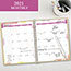 "AT-A-GLANCE® Watercolors Monthly Planner, 6 7/8"" x 8 3/4"", Watercolors, 2021 Thumbnail 5"