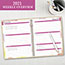 "AT-A-GLANCE® Watercolors Weekly/Monthly Planner, 8 1/2"" x 11"", Watercolors, 2021 Thumbnail 5"
