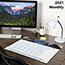 "AT-A-GLANCE® Motivational Panoramic Desk Pad, 22"" x 17"", Motivational, 2021 Thumbnail 6"