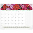 "AT-A-GLANCE® Floral Panoramic Desk Pad Calendar, 22"" x 17"", Floral, 2021 Thumbnail 1"