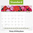 "AT-A-GLANCE® Floral Panoramic Desk Pad Calendar, 22"" x 17"", Floral, 2021 Thumbnail 5"